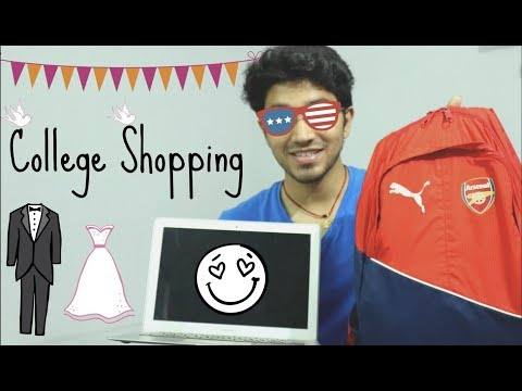 College Shopping | What all things to buy for College
