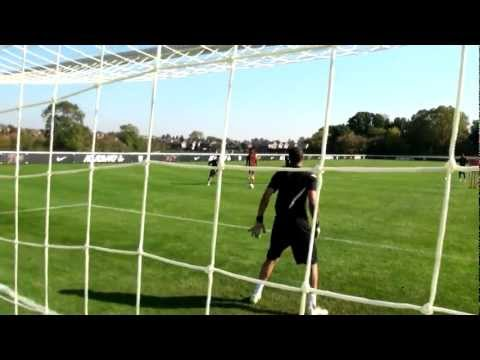 Soccer shooting exercise | Three finishes in one drill | Nike Academy