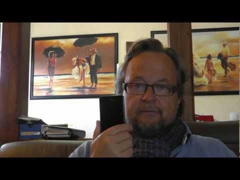 Samsung Galaxy S2 mit App. Serienfans.TV