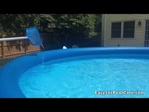 Best Way To Clean Intex EasySet Pool