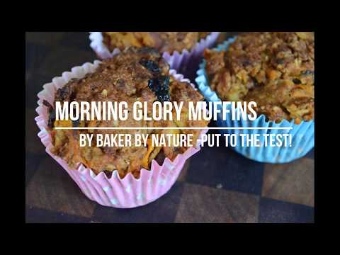 Dairy and Egg Free Morning Glory Muffins - Clem's Recipe Review