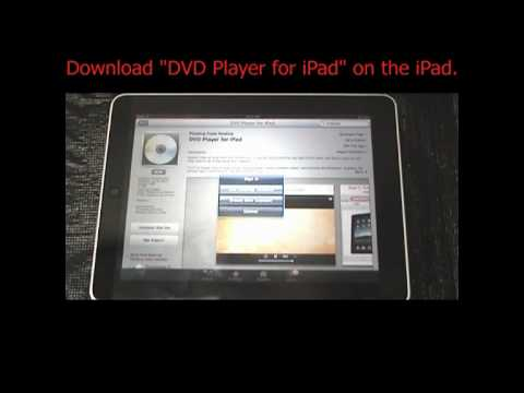 DVD Player for iPad Instructions for Installation