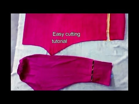 how to cut trouser step by step tutorial
