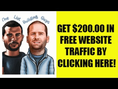 Get Free Mailing List For Email Marketing - Increase Your Traffic For Free