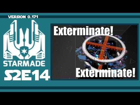 StarMade - SURVIVAL | Pirate Base? Not Anymore... | e14