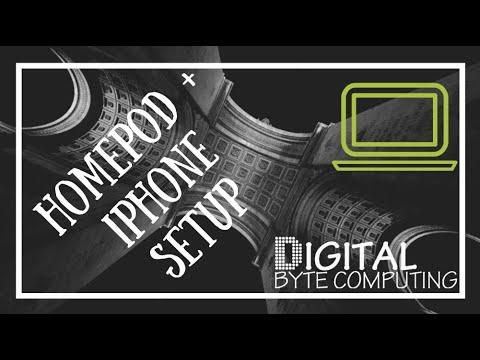 Apple Homepod unboxing and basic setup on iPhone