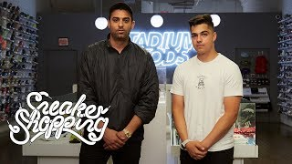 Download Fan Contest Winner Ed Mora Goes Sneaker Shopping with Complex Video
