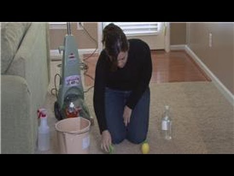 Cleaning Tips : Removing Rust Stains From Carpeting