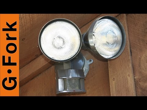 Install a Motion Sensor Light - GardenFork