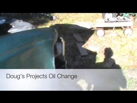 How To Change the oil and filter on any car or truck.