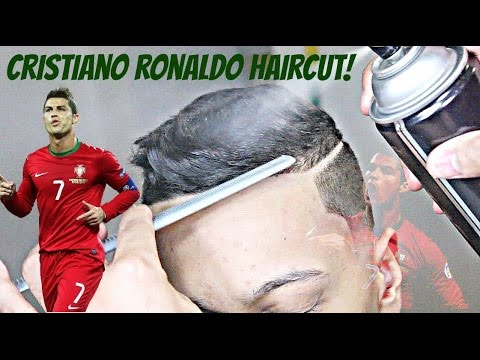BARBER TUTORIAL: CRISTIANO RONALDO HAIRCUT HD!