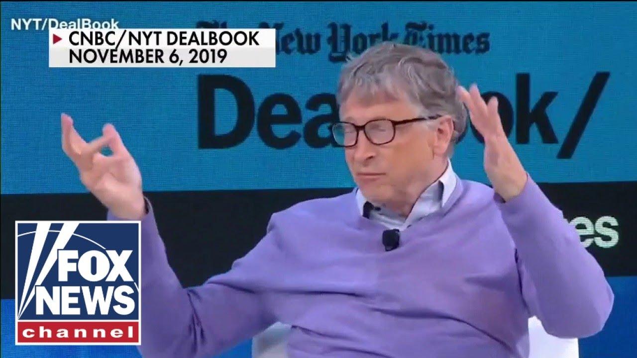 'The Five' discuss Bill Gates alleged link to Jeffery Epstein
