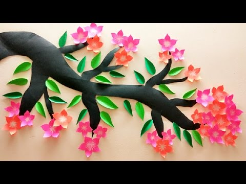 DIY | 3D Wall Sticker | Wall decoration | Home decor | Room decoration