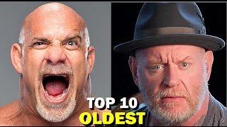 10 Oldest WWE Wrestlers 2017 Current Roster