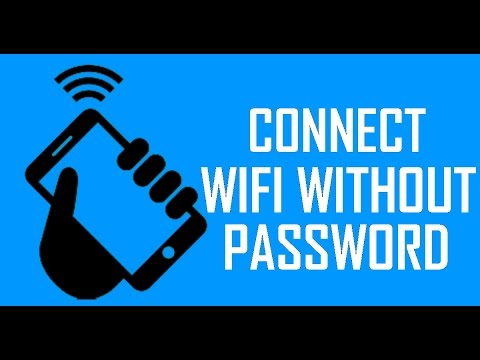 connect wifi without any security key