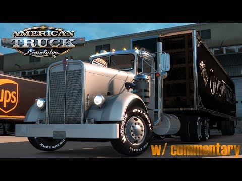American Truck Simulator: Kenworth 521 - Raleigh to Fayetteville NC - With commentary