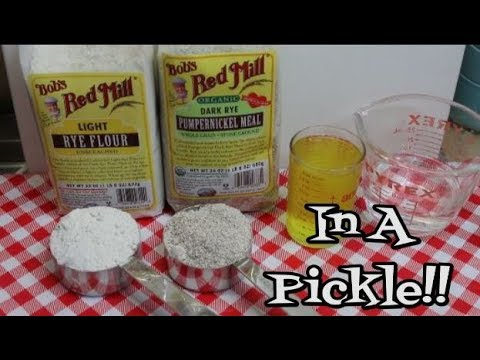 Dill Pickle Rye Sourdough Starter ~ Old World ~ How To Make Sourdough Starter ~ Noreen's Kitchen