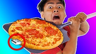 Download Trying Weird Pizza Gadgets You Never Knew About Video
