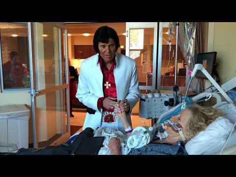Elvis visits hospital, sings special request