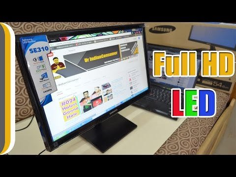 Samsung LS22E310HY/XL 21.5-inch Full HD LED Monitor Unboxing & Review