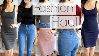 Fashion Try On Haul 2015 - Forever 21, H&M, Zara, Charlotte Russe & Lookbook Store