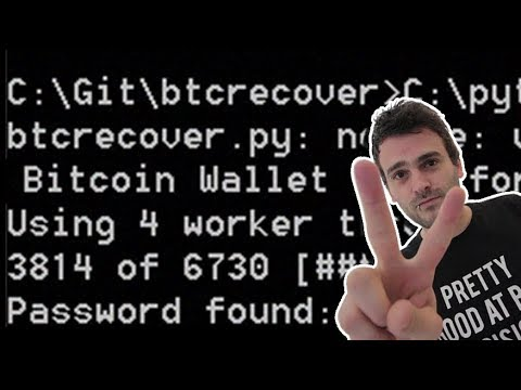 Brute-force your Bitcoin wallet - part 2 - btcrecover on Multibit classic - Password found