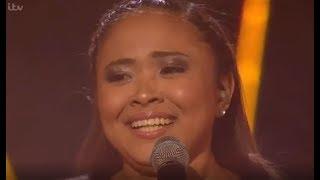 The Philippne Queen Alisah Bonaobra Sings EMOTIONAL (FINAL?) Song    The X Factor UK 2017