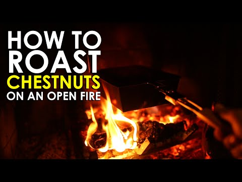 How to Roast Chestnuts on an Open Fire   The Art of Manliness