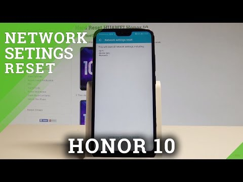How to Reset Netwok Settings on Honor 10 - Restore Default Networks |HardReset.Info