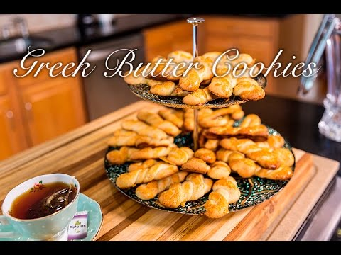 Greek Butter Cookies/ Koulourakia