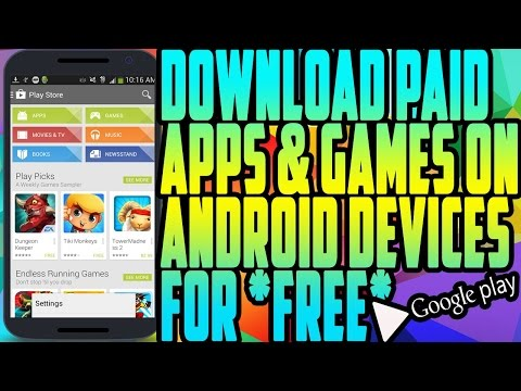 How to download paid app & cracked app for FREE on android(NO ROOT NEEDED)