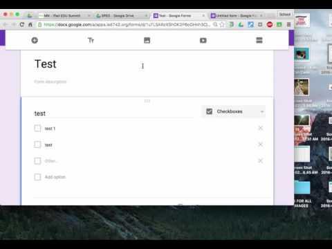google forms- setup