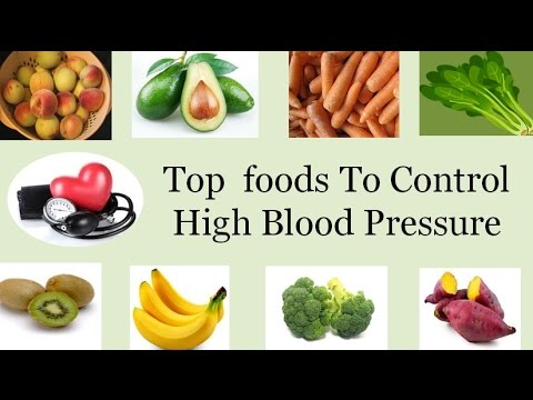 Top  foods To Control High Blood Pressure