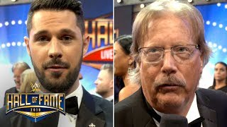 WWE Hall of Fame 2018 Exclusive Interviews