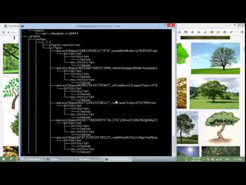 Windows tree command, use & misconception