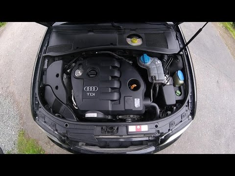 What's under the hood? Naming parts inside the engine bay, Audi A6