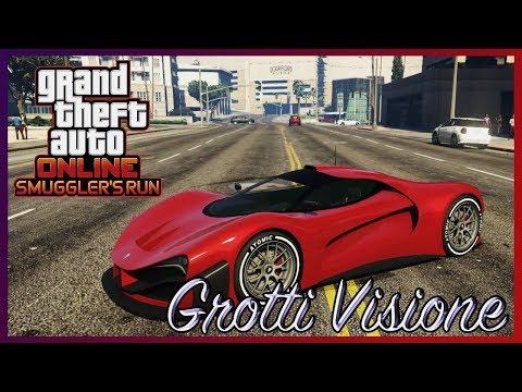 GTA Online. Обзор Grotti Visione. Феррари Концепт.