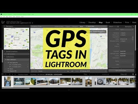 Troubleshooting Lightroom GPS tagging - Can't Save Metadata and Wrong Time