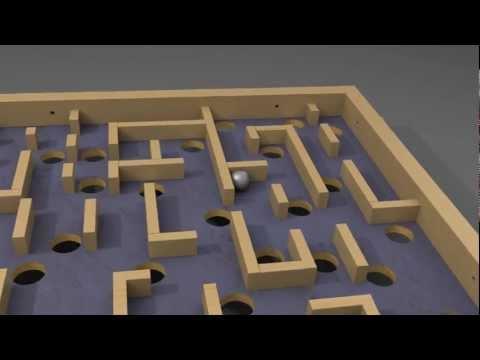 SolidWorks Labyrinth
