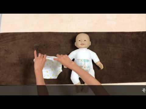 How to dress baby in onesie