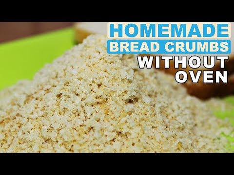 Bread Crumbs at Home without Oven | How to make Bread Crumbs | Kanak's Kitchen