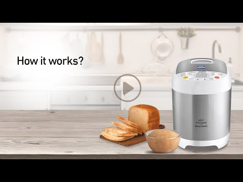 How to Use Kent Atta & Bread Maker Machine for Home - Demo Video