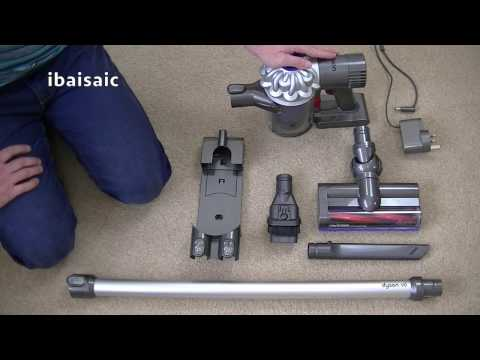 Dyson V6 Cordless Vacuum Cleaner Demonstration & Review