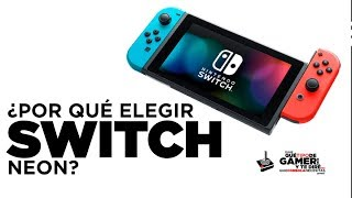 ¿Por qué Nintendo Switch Neon es ideal para ti?