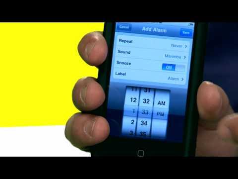 iPhone Tips: Setting an Alarm