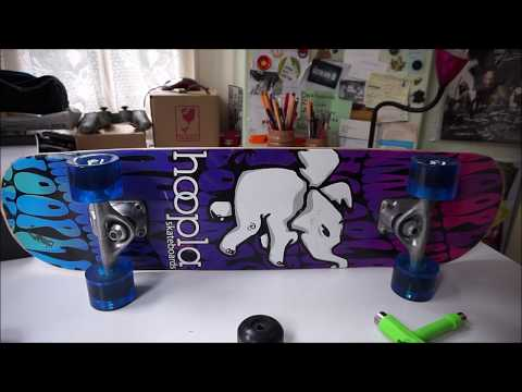 How to Put Penny/Crusier Wheels On A Skateboard
