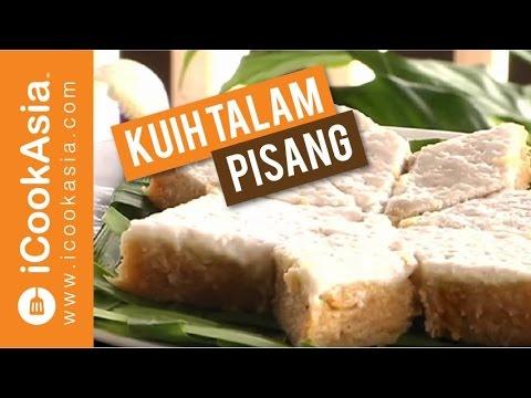 Kuih Talam Pisang | Try Masak | iCookAsia