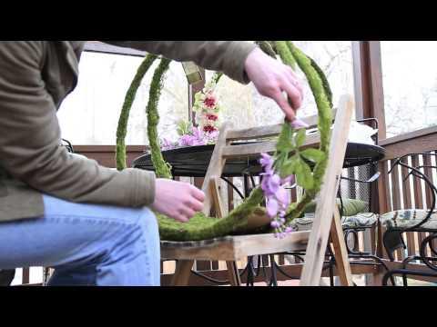 Forest Flora Newborn Prop - Part 2