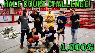 $1000 Half Court Challenge!