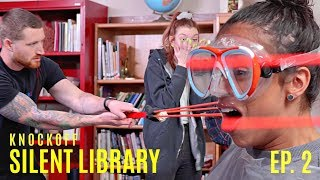 Download SLINGSHOT TO THE FACE!! MTV'S SILENT LIBRARY REMAKE! EPISODE 2. Video